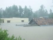 Tin tức trong ngày - Miền Trung tiếp tục mưa lớn, nước lũ dâng cao