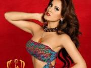 Ngắm đường cong nóng bỏng của Tân Hoa hậu Trái Đất