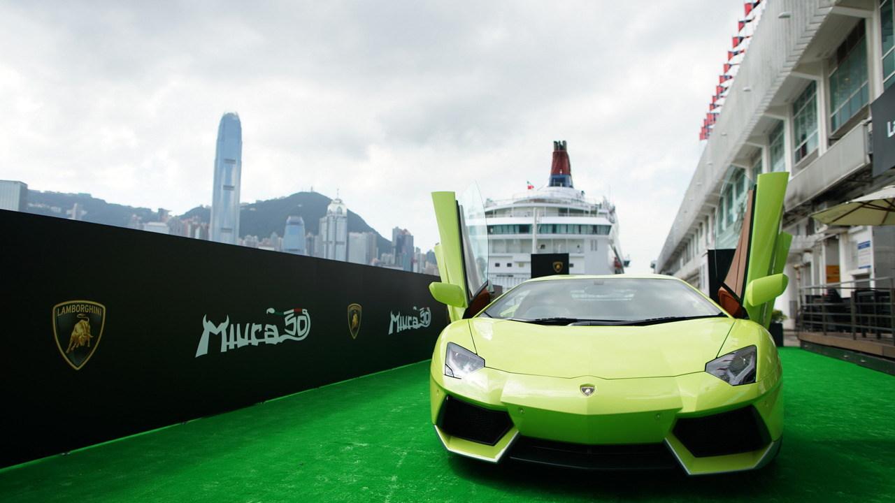 """Ngắm Lamborghini Aventador màu rắn xanh cực """"độc"""""""