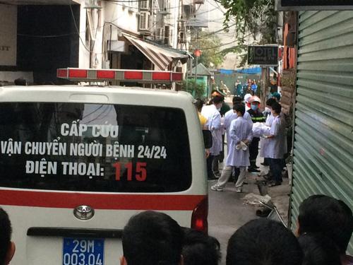 HN: Cháy dữ dội ở quán karaoke trên đường Trần Thái Tông - 18