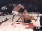 """Thể thao - MMA: Nằm sàn """"giả chết"""" bất ngờ tung đòn chí tử"""