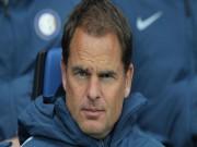 Tin chuyển nhượng - Tin HOT bóng đá tối 1/11: Inter Milan sa thải Frank de Boer