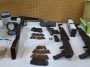 """An ninh Xã hội - Dàn vũ khí """"nóng"""" trong vụ bắn chết nhân viên nhà nghỉ ở Hà Nội"""