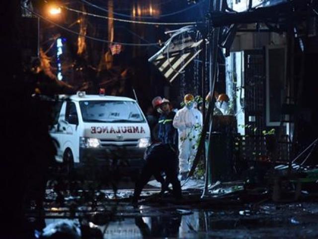 Cháy quán karaoke ở Hà Nội: 13 người đã thiệt mạng
