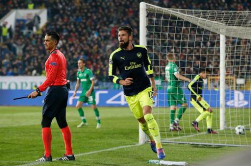 Ludogorets – Arsenal: Ngược dòng đẳng cấp - 1