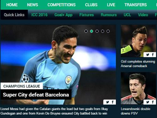 """Báo chí thế giới: """"Siêu Man City"""" nhấn chìm Barca"""