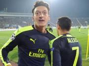 Bóng đá - Arsenal: Tuyệt phẩm Ozil khiến Wenger và fan mê mẩn
