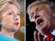 Thế giới - Trump lần đầu vượt qua Hillary Clinton kể từ tháng 5