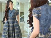 Nam Em háo hức lần đầu mở màn show diễn thời trang