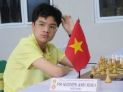 Thể thao - Kỳ thủ Anh Khôi và giấc mơ thành đại kiện tướng quốc tế