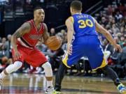 Thể thao - Bóng rổ NBA: Warriors và Blazers ghi điểm mãn nhãn