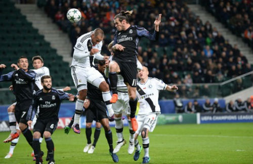 Legia - Real Madrid: Kịch tính 6 bàn thắng - 1