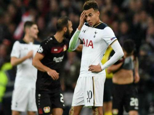 Tottenham - Leverkusen: Trái đắng ở Wembley