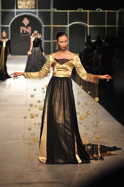 Mãn nhãn với tuyệt tác trang sức tại Vietnam International Fashion Week - 6