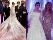 Bạn trẻ - Cuộc sống - Ái nữ tỉ phú diện váy cưới nạm ngọc giá 14 tỉ đồng