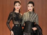 Thời trang - Hoa hậu Mỹ Linh, Á hậu Thanh Tú gây sốc vì quá lạ