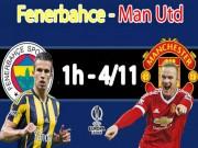 Bóng đá - Fenerbahce - MU: Mourinho trao cơ hội cho Mkhitaryan (Europa League)