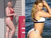 Thời trang - Mẫu béo đẳng cấp gợi tình với bikini khoét hông cao ngút