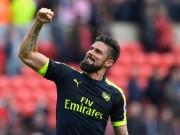 Bóng đá - Giroud thăng hoa cùng Arsenal: Khi gỗ hóa vàng