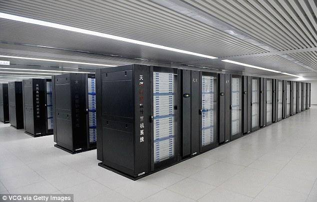 Trung Quốc phát triển siêu máy tính mạnh gấp 10 lần hiện nay