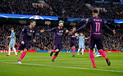 Barca phụ thuộc Messi–Suarez–Neymar: Con dao 2 lưỡi