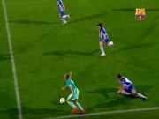 """Bóng đá - """"Messi nữ"""" tái hiện siêu phẩm solo của Maradona"""