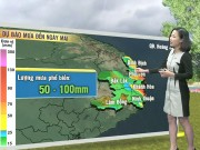 Tin tức trong ngày - Dự báo thời tiết VTV 4/11: Mưa lớn ở Trung Bộ, Nam Bộ