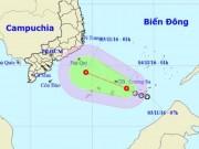 Tin tức trong ngày - Chiều tối nay, áp thấp nhiệt đới gây mưa dông ở Nam Bộ