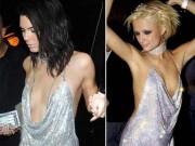 Thời trang - Kendall Jenner khoe ngực mini vẫn sexy với váy trễ nải