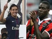 Bóng đá - Cavani đọ Balotelli top 5 bàn đẹp nhất vòng 11 Ligue 1