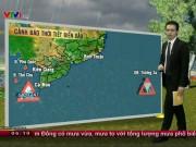 Tin tức trong ngày - Dự báo thời tiết VTV 5/11: Mưa lớn khắp Trung Bộ đến Nam Bộ