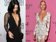 Thời trang - Mê mệt đầm ren ngàn lỗ khoét sâu của mỹ nhân Hollywood