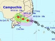 Tin tức trong ngày - Áp thấp nhiệt đới ảnh hưởng trực tiếp tới TP.HCM