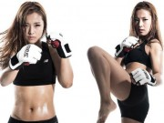 """Thể thao - Nữ võ sĩ đẹp mê hồn, khiến nam nhi vừa """"sợ"""" vừa yêu"""