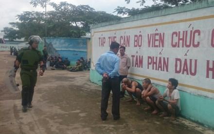 Đã bắt hơn 30 học viên cai nghiện đập phá trại, trốn ra ngoài