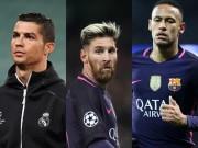"""Bóng đá - Ronaldo, Messi và Neymar tranh giải thưởng """"như trò hề"""""""
