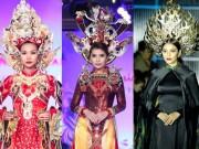 """Thời trang - Mỹ nhân Việt""""trẹo cổ"""" vì những chiếc khăn mấn khổng lồ"""