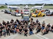 Tư vấn - Gia Lai Team khoe dàn siêu xe Lamborghini khủng trên đất Mỹ
