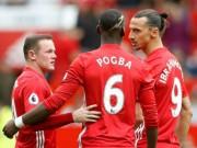 Bóng đá - MU đại thắng Swansea: Sức sống từ tam tấu mới