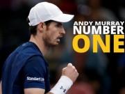 Thể thao - BXH tennis 7/11: Murray ung dung ngôi số 1, Hoàng Nam tiến gần top 600