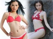 """Màn trình diễn bikini tự tin  """" vô đối """"  của HH Thùy Lâm"""