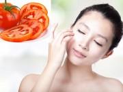 Làm đẹp - Tự chế mặt nạ cà chua làm da sáng và mịn không tì vết