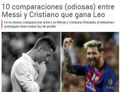 Bóng đá - Ronaldo gia hạn, báo thân Barca lôi Messi ra so sánh