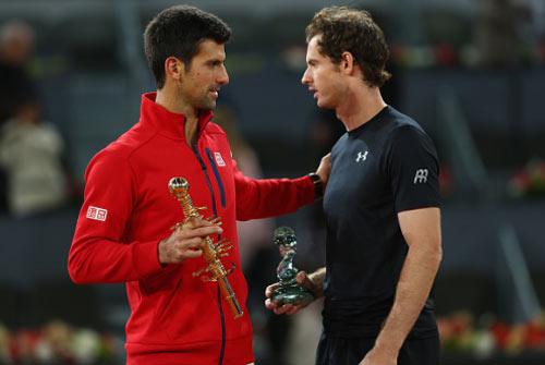 """Tin thể thao 8/11: """"Murray toàn diện hơn Djokovic"""""""