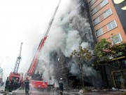 Tin tức trong ngày - Sau vụ cháy 13 người chết, HN lập đoàn kiểm tra quán karaoke
