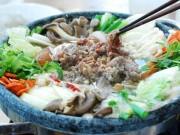 Ẩm thực - Lẩu bò kiểu Hàn nóng hổi vừa ăn vừa thổi
