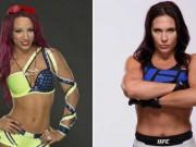 """Thể thao - Ghét thái độ: """"Nữ quái"""" UFC đòi chiến """"thánh nữ"""" WWE"""