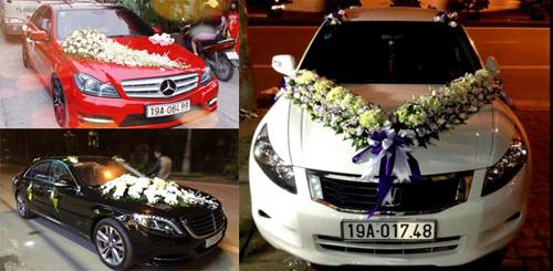 Diện kiến dàn xe sang đón dâu tại Phú Thọ
