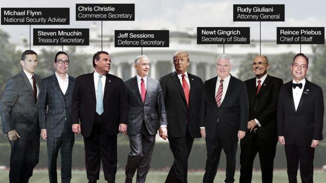 Hé lộ 7 nhân vật quyền lực nhất trong bộ máy của Trump - ảnh 1