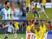 """Bóng đá - Đối đầu nhau, Neymar thường xuyên bị Messi """"bắt nạt"""""""